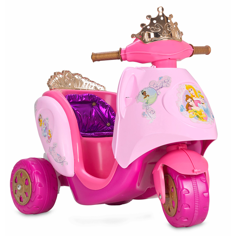 Scooty Disney Princess 6v Electric Scooter Kids Ride On Cars