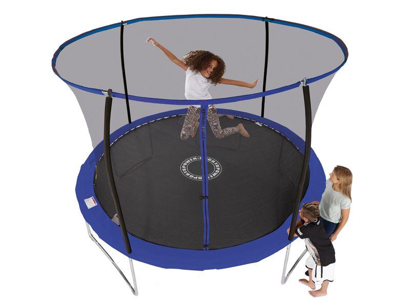 10ft Sportspower Trampoline With Easi Store Enclosure Ileisure