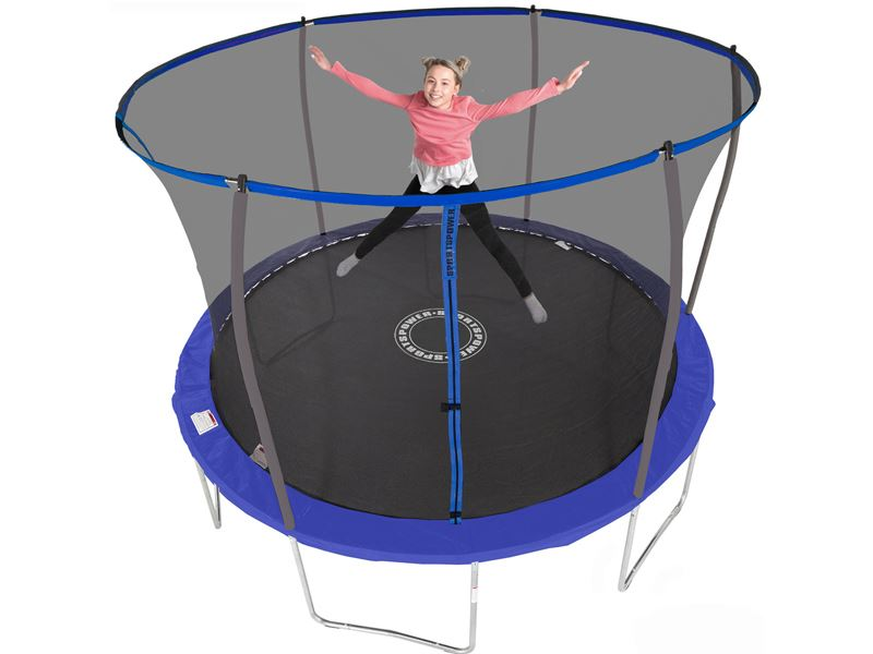 12ft Sportspower Trampoline With Easi Store Enclosure Ileisure