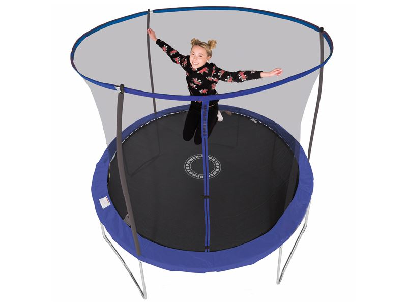8ft Sportspower Trampoline With Easi Store Enclosure Ileisure